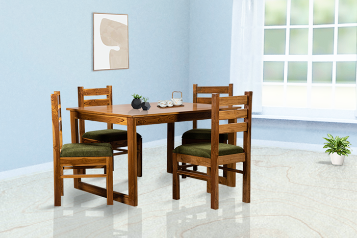 TR MADEIRA DINING TABLE & CHAIRS (4 SEATS)